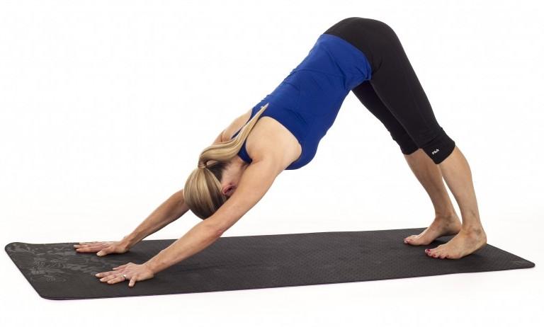 Cane a faccia in giù, yoga per tutti, yoga accessibile, yoga accessibile italia