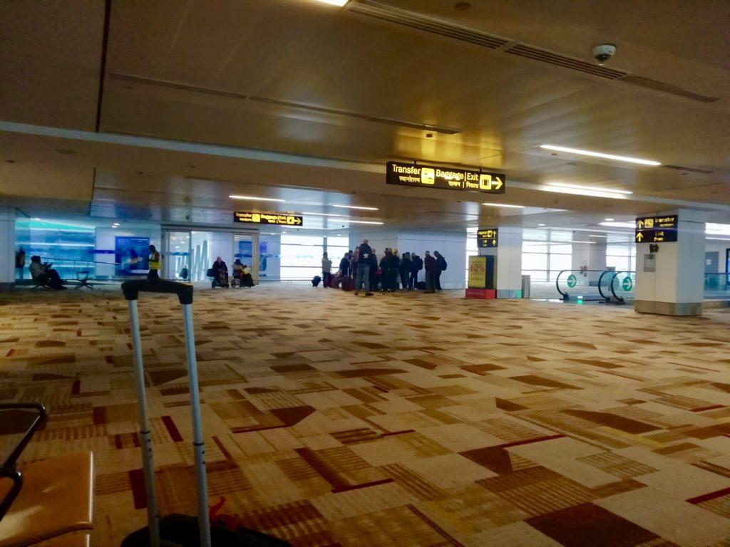 aeroporto indiano nuova delhi
