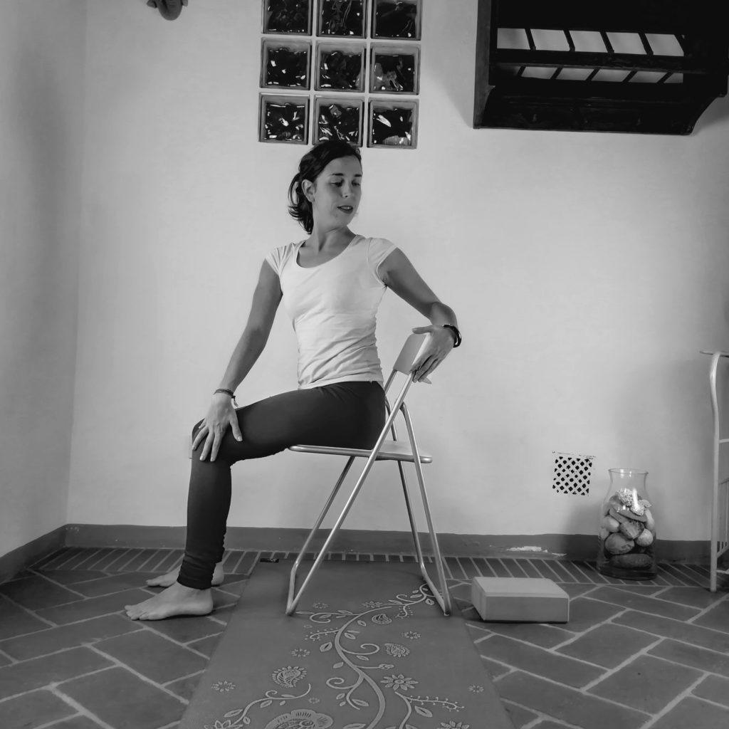 torsione yoga accessibile