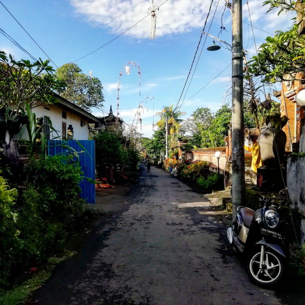 strade di bali, indonesia