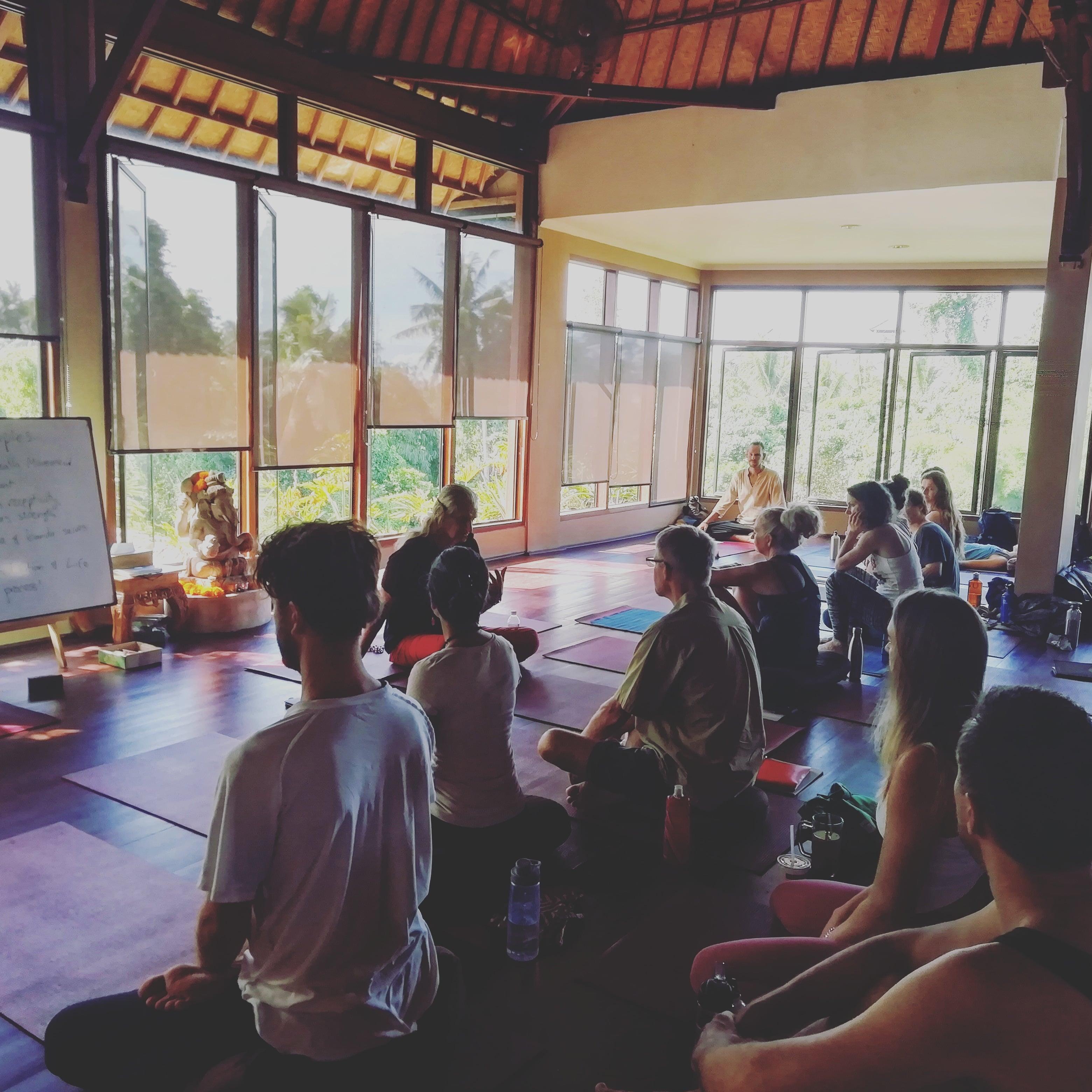 Yoga Barn Ubud Bali Indonesia