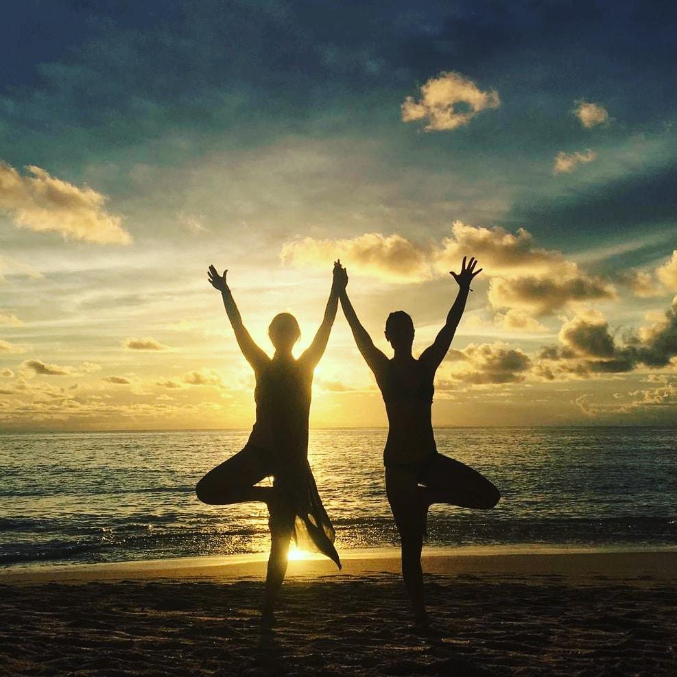 yoga insieme, partner yoga